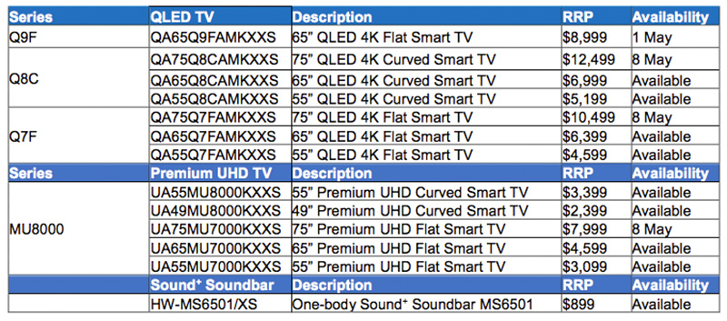 Samsung's gorgeous QLED 4K TVs are now in stores - HardwareZone.com.sg