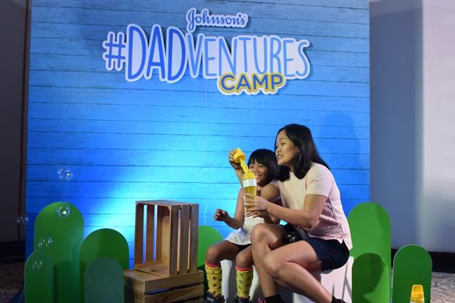 Johnson's #Dadventures Camp