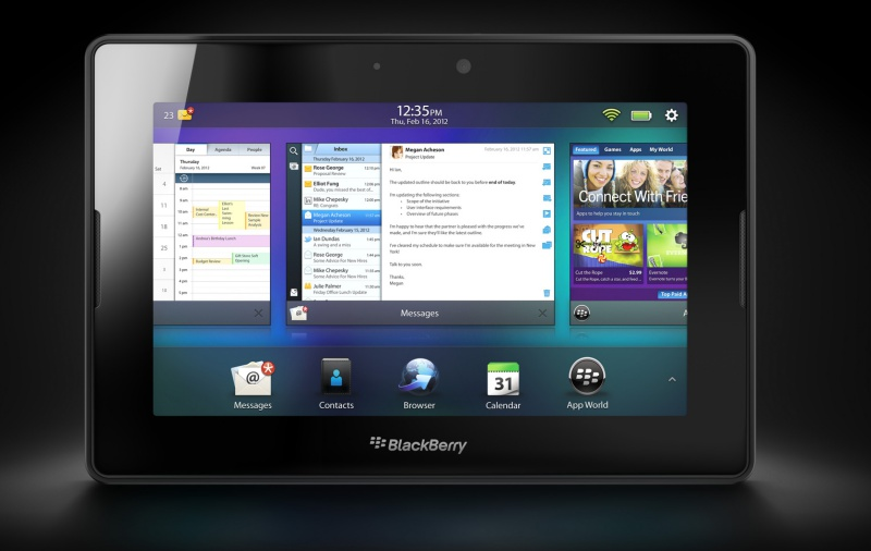 The BlackBerry Playbook. <br>Image source: Know Your Mobile