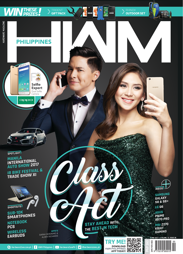 HWM Philippines May 2017 issue is out! Grab a fresh copy now
