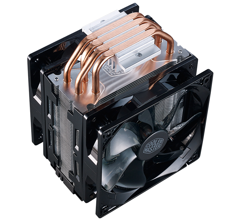 Cooler Master Hyper 212 LED Turbo heat pipes