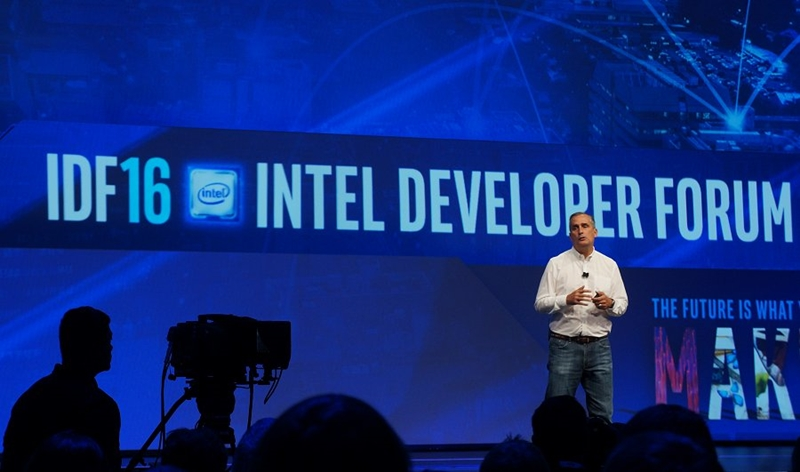 Who would have known that this would be Intel CEO Brian Krzanich's final IDF keynote in 2016.