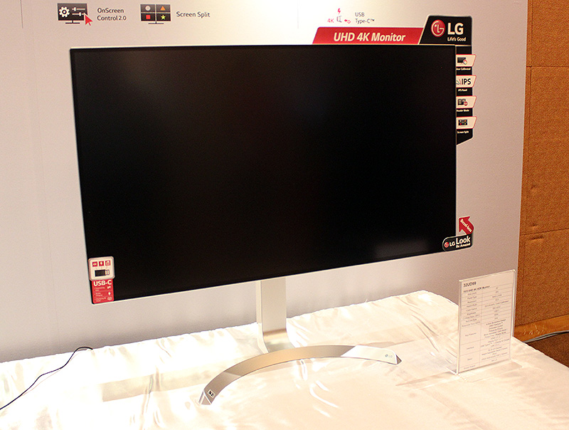 The 32-inch LG 32UD99 supports the HDR10 color gamut and displays over 95% of the DCI-P3 color space.