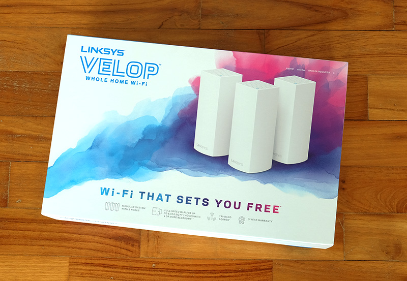 Announced earlier this year, Linksys Velop is finally here. We are the second country in Asia to get Velop. China was first.