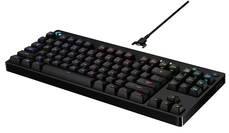 The Logitech G Pro mechanical gaming keyboard is a no-nonsense board