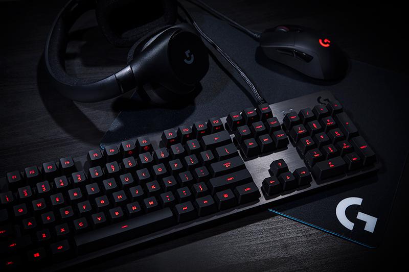 The Logitech G413 mechanical gaming keyboard represents a