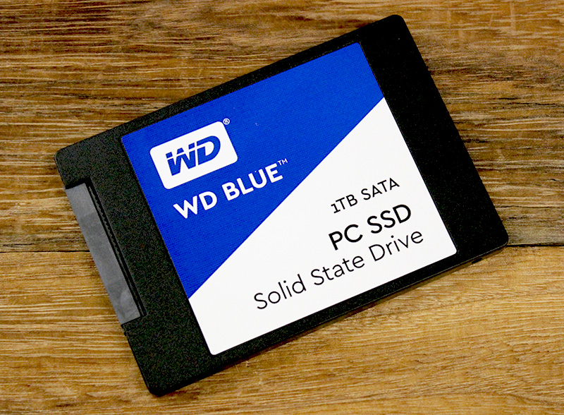 The WD Blue SSD is available in a 2.5-inch form factor drive and also as an M.2 stick.