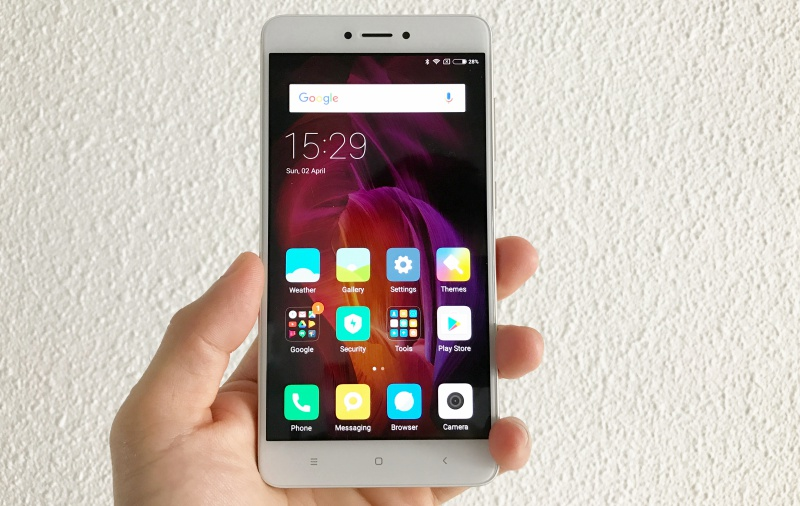 The Xiaomi Redmi Note 4.