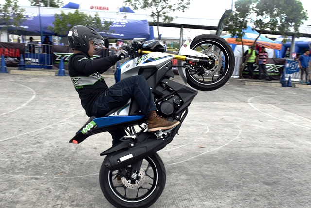 Yamaha kicks off moto gymkhana competition series in ph for Yamaha philippines price list 2017