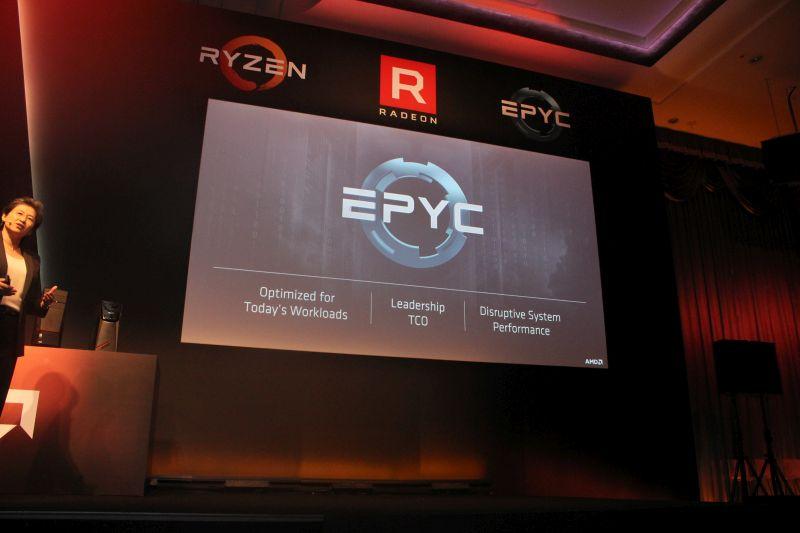 AMD's EPYC will be launching on June 20, 2017.