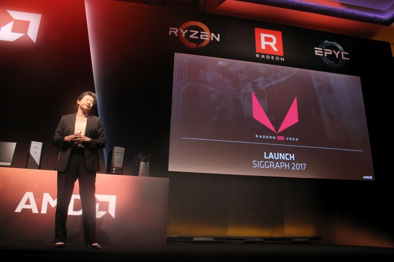 Sorry, AMD Radeon fans. Guess we're just going to have to wait until SIGGRAPH this year to see the Radeon RX Vega.