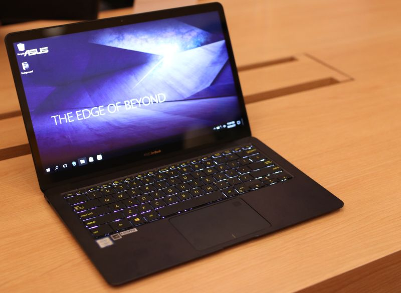 The ASUS ZenBook 3 Deluxe.