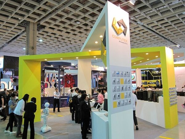 Every year, scores of companies at the annual COMPUTEX ICT tradeshow vie for the coveted d&i award. <br>Image source: COMPUTEX Taipei.
