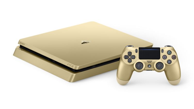 The Gold PS4.