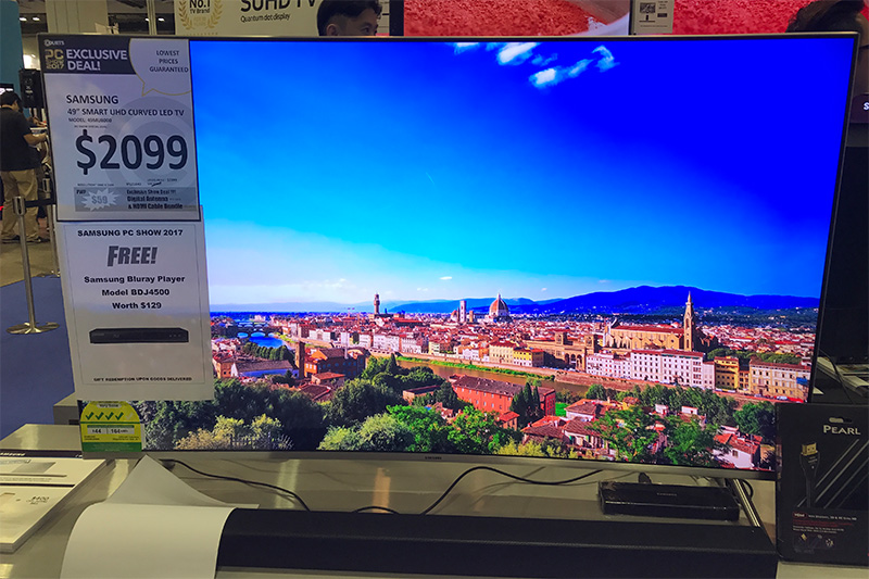samsung tv mu8000. the curved mu8000 series is also part of samsung\u0027s 4k lineup this year. 49-inch model supports hdr, has brightness up to 1,000 nits and comes with samsung tv mu8000
