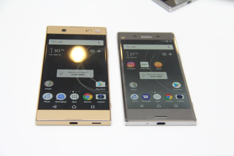 sony mobile puts its xperia xz premium and xa1 ultra up for pre