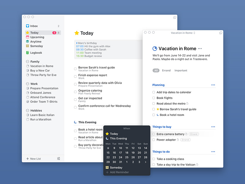 Things 3 Is The Latest Update To Things, A To Do List For MacOS And IOS  From Cultured Code. This App Has A History: It Was First Released In 2007,  ...