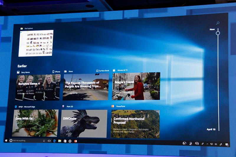 Thanks to the Microsoft Graph, Windows 10 Fall Creators