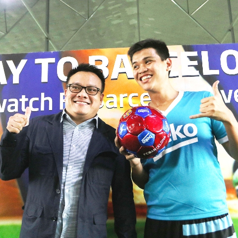 beko, beko ph, kick your way to barcelona challenge