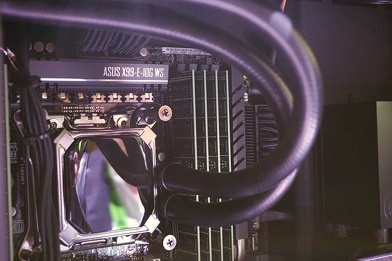 Note the motherboard supplier and model used.