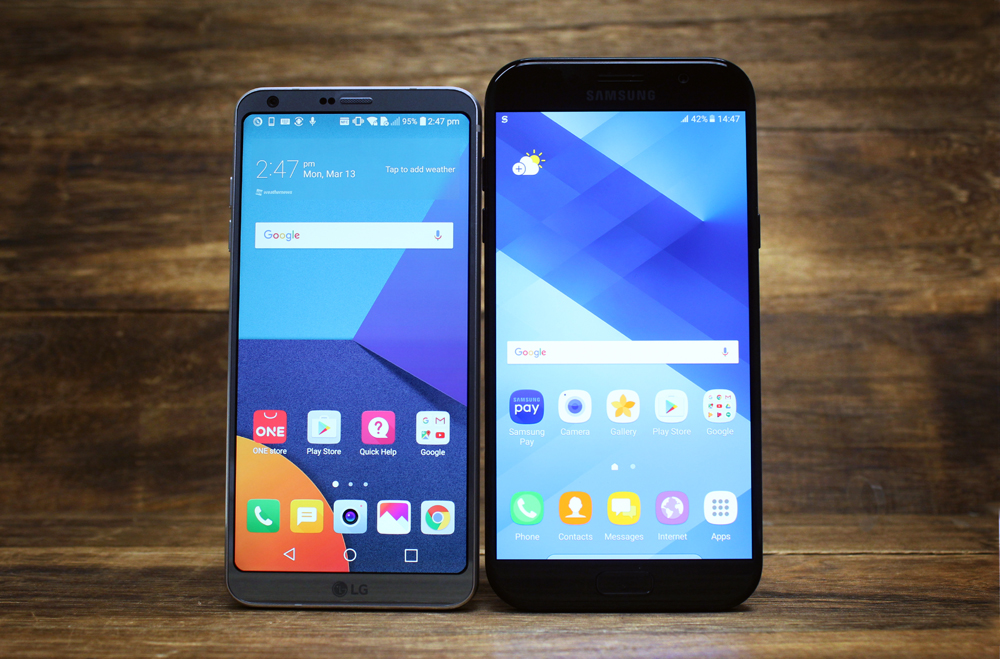Display, Audio & Software features : LG G6 review: Can LG's bezel