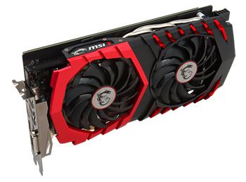MSI GeForce GTX 1060 Gaming X+ 6G.