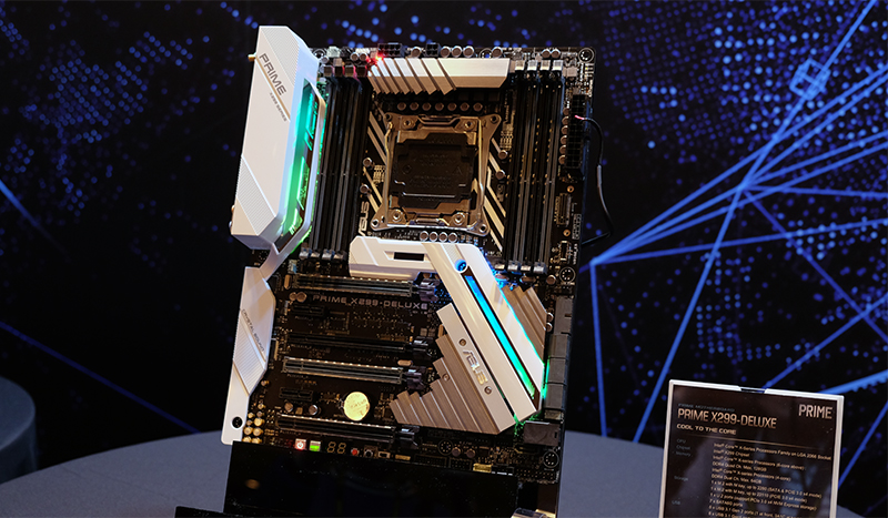 ASUS' new ROG X299 boards come with a ton of new features