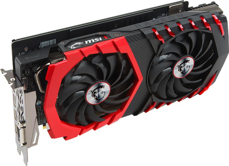 MSI Radeon RX 580 Gaming X+ 8G
