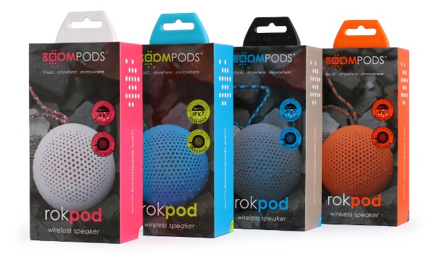 rokpod, boompods, speaker