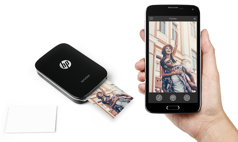 With the HP Sprocket, all the photos in your phone can literally be brought to life.