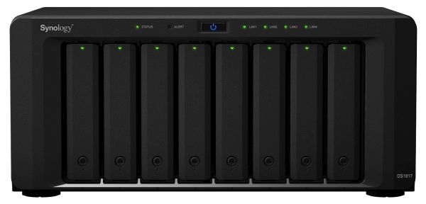 The DiskStation DS1817. <br>Image source: Synology.