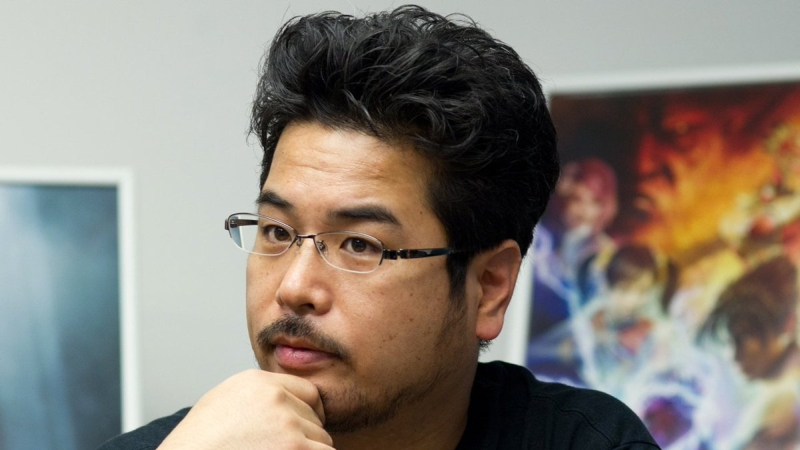 Katsuhiro Harada, the person behind every Tekken game. <br>Image source: Avoiding the Puddle.