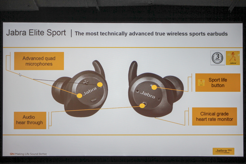 9dd5ac194da Speaking of jogging, the Elite Sport also offers in-ear audio coaching and  comes replete with its own in-ear heart rate monitor.
