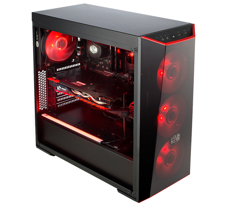 the cooler master masterbox lite 5 is a spacious and stylish case for those on a budget updated. Black Bedroom Furniture Sets. Home Design Ideas