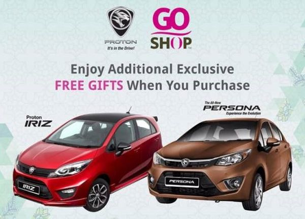 Astro and Proton have reached a landmark marketing deal to sell Proton vehicles like the IRIZ and PERSONA across the GO SHOP platforms. <br> Image source: Astro Awani.
