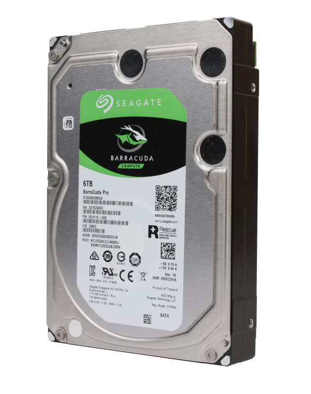Seagate BarraCuda Pro: SSD-like performance with Intel