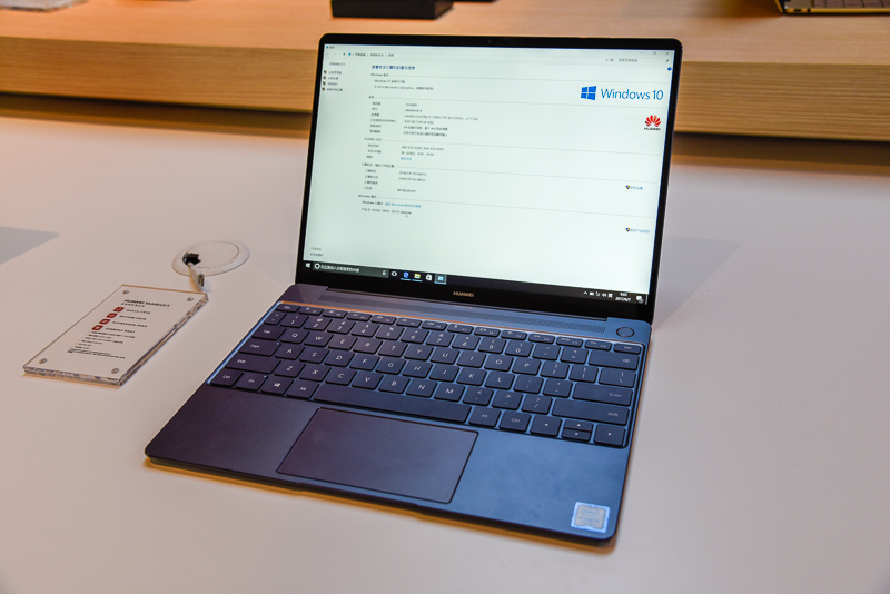 huawei laptop. hands-on with the huawei matebook x laptop