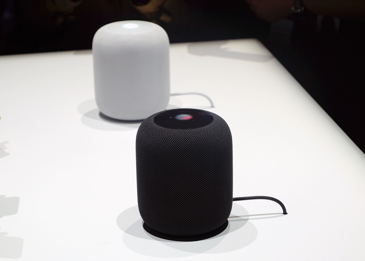 Like most Apple devices, the new HomePod speakers look great.