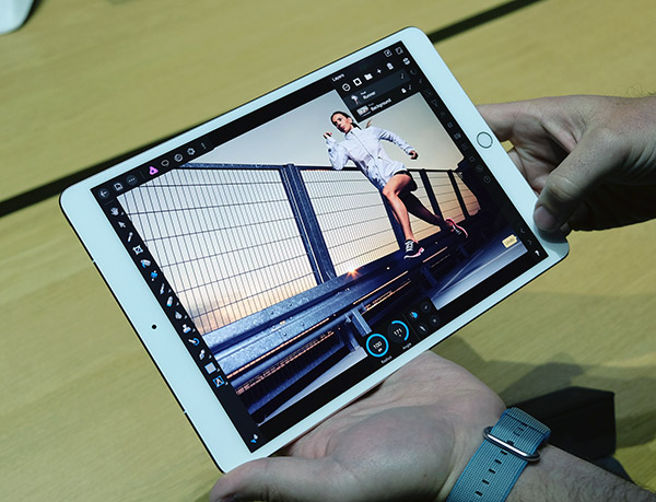 The 10.5-inch Apple iPad Pro.