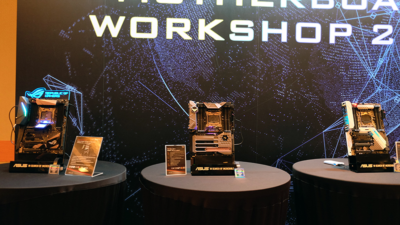 Intel X299 motherboards