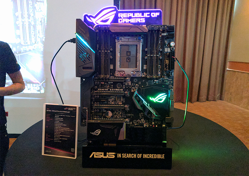 Asrock Asus And Gigabyte Already Have Amd X399 Threadripper Boards Waiting In The Wings Hardwarezone Com Sg