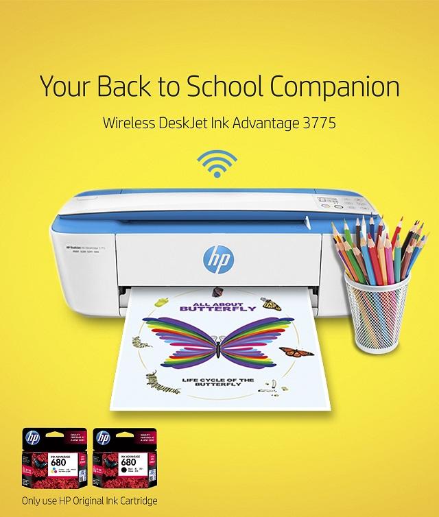 hp, wireless printer, all-in-one printer, aio printer, deskjet, ink advantage 3777, original hp ink cartridge