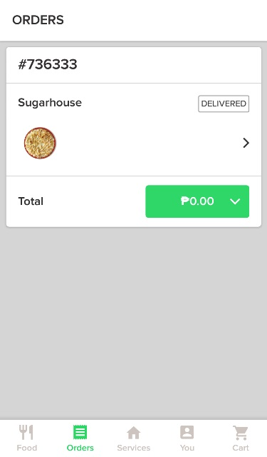 Credit Card Payment Food Delivery Philippines