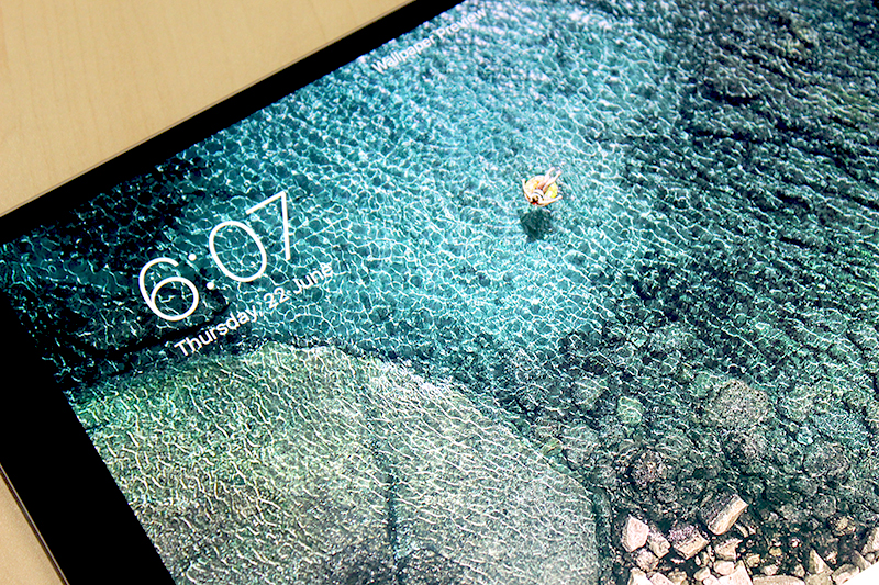 The display on the new 10.5-inch iPad Pro is simply incredible.