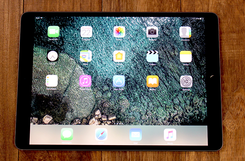 The 10.5-inch iPad Pro was announced at WWDC 2017 earlier this month.