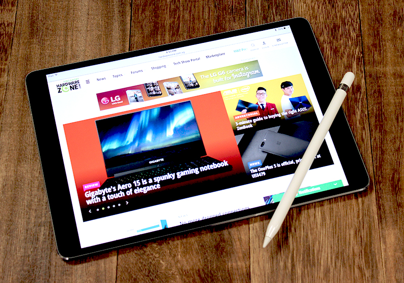 Apple Pencil is even more fluid and responsive on the new 10.5-inch iPad Pro thanks to its ProMotion display.