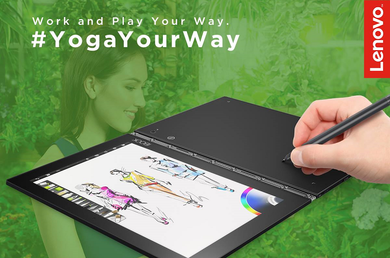 Lenovo's 'Yoga Your Way' campaign's grand prize is a holiday for two to France, worth up to RM34,000.