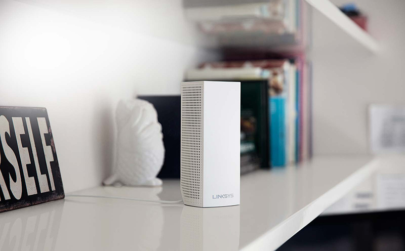 The Linksys Velop is one of the more advanced Wi-Fi mesh networking systems available today. (Image source: Linksys)