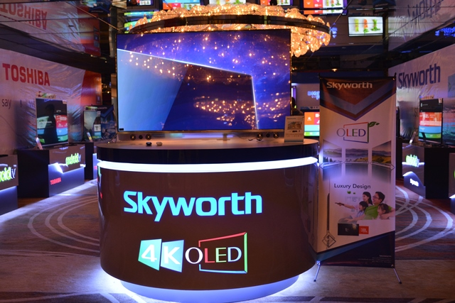 skyworth, toshiba, android tv series