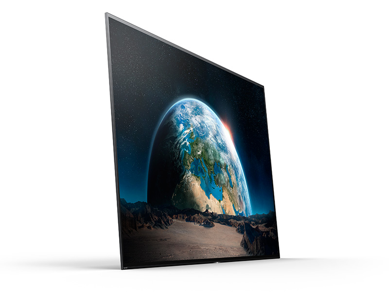 Earth Filling Work : With the a bravia oled sony has elevated tv